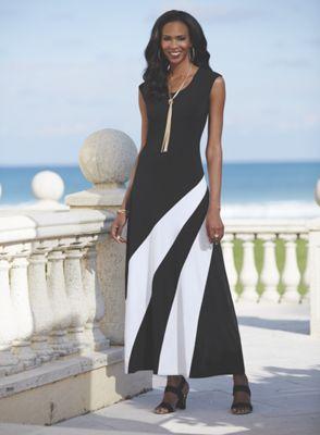 Side Swipe Dress