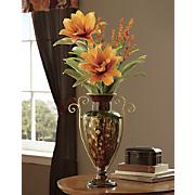 Golden Scroll Waterdrip Vase
