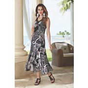 fiala mixed print dress
