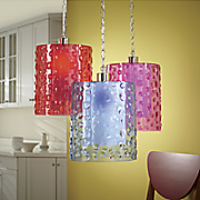 Embossed Circles Pendant Lamp