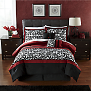 Ambrosia 10-Pc Bed Set and Window Treatments