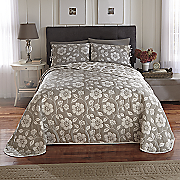 Blossom Reversible Bedspread and Sham