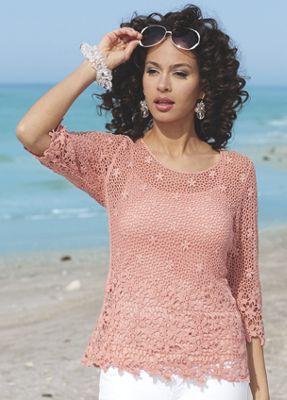 Floral Crochet 2-Piece