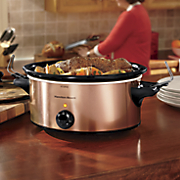6 qt  stay or go portable slow cooker by hamilton beach