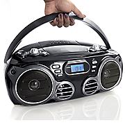 portable cd radio player by sylvania