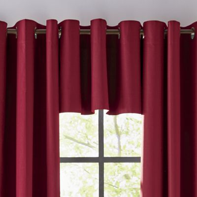 Thermalogic Weathermate Thermal Solid Color Grommet-Top Valance