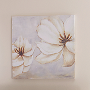 Cream Magnolia Canvas