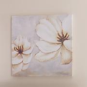 Cream Magnolia Canvas