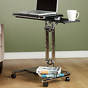 chrome laptop cart