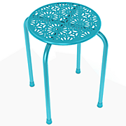 Daisy Metal Stool