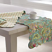 jasleen valance  runner and place mats