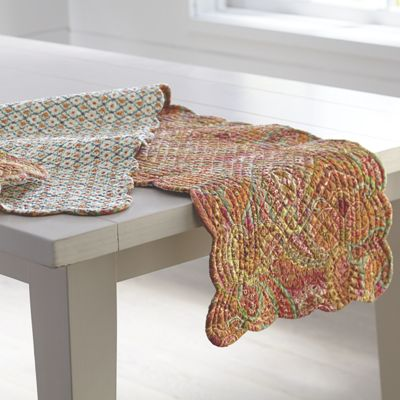 Veda Valance, Table Runner and Place Mats