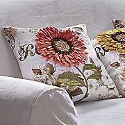 Blooming Sunflower Pillow Cover and Inserts
