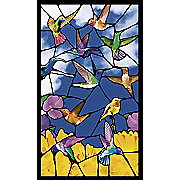 WOWindow Stained Glass Poster