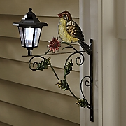 bird with solar light