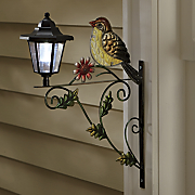 bird with solar light