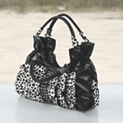 Polka Dot Ruffle Bag