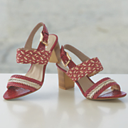 Multi Texture Sandal by Monroe and Main