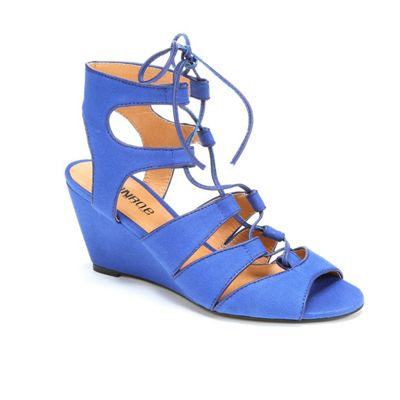 Lace-Up Ankle Sandal by Monroe & Main