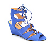 lace up ankle sandal by monroe and main
