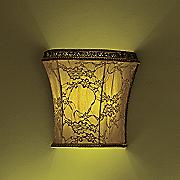 ivory lace led wall lamp