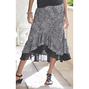 ruffle hi low skirt 2