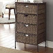 4-Drawer Maize Weave Chest