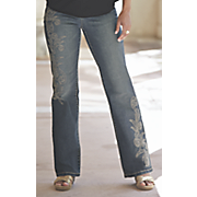 Darby Embroidered Jean