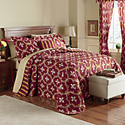 Grenoble Bedspread, Decorative Pillow and Window Treatments