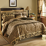Sorrento Comforter, Decorative Pillow and Window Treatments