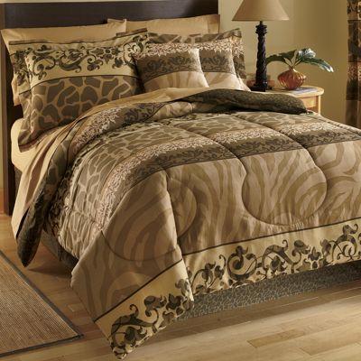 Sorrento Comforter, Decorative Pillow and Window Treatments
