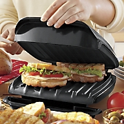 indoor grill panini press by george foreman