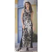 Jayla Print Inset Maxi Dress