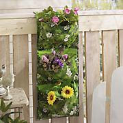 wall flower pot bag
