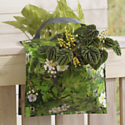 saddle flower pot bag