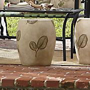 flora garden stool