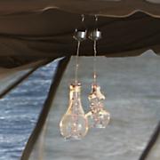 hanging solar terrarium lights