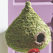 SuperMoss Raindrop Birdhouse