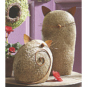 Set of 2 Garden Cats