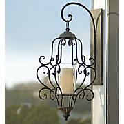 wall mount candle lantern