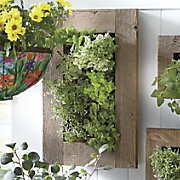 Rustic Wall Double Planter