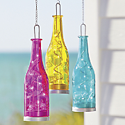 fiesta hangin glass bottle 3 pack
