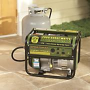 2000 watt propane generator by sportsman