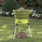 electric leaf mulcher and shredder by sunjoe
