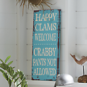 happy clams wall art