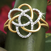 postpaid diamond cosmic ring