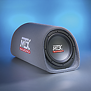 mtx 120 watt roadthunder 8 subwoofer tube