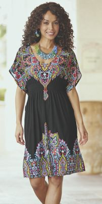 Kaleidoscope Caftan Dress