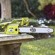 electric 18 chainsaw by sunjoe