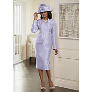 herlinda hat and highland skirt suit